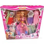 Hộp đồ chơi búp bê 12 bộ váy đầm dạ hội