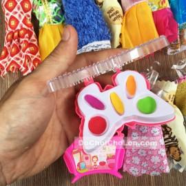 Hộp đồ chơi búp bê có khớp nối 12 bộ váy và phụ kiện
