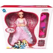 Hộp đồ chơi búp bê công chúa nàng Tiên Cá 12 khớp nối