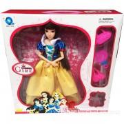Hộp đồ chơi búp bê nàng công chúa Bạch Tuyết 12 khớp nối