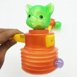 Bộ đồ chơi 2 búa đập hình con mèo bằng nhựa