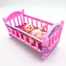 Đồ chơi giường nôi em bé nhỏ BP58