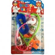Vỉ đồ chơi bác sĩ 6 món dụng cụ y tế