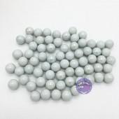 Bộ 70 viên bi ve sứ màu trắng đục size 1.6 cm bằng thủy tinh