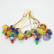 Bộ đồ chơi 12 cái còi banh bằng nhựa
