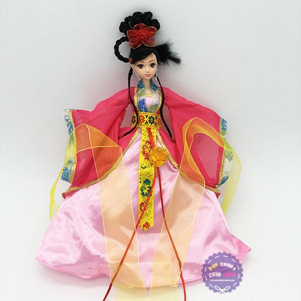 Hộp đồ chơi búp bê cổ trang Trung Quốc thắt bính 12 khớp nối