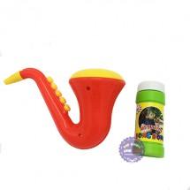 Đồ chơi kèn Saxophone thổi bong bóng xà phòng Nhựa Chợ Lớn