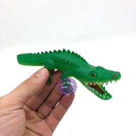 Đồ chơi mô hình cá sấu mini bằng cao su CS01