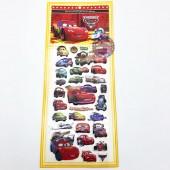 Hình dán sticker nổi 3D hình các loại xe hơi Cars