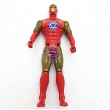 Đồ chơi mô hình Người Sắt bằng nhựa có đèn 611