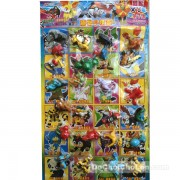 Vỉ đồ chơi Pokemon bằng nhựa 24 con (5cm)