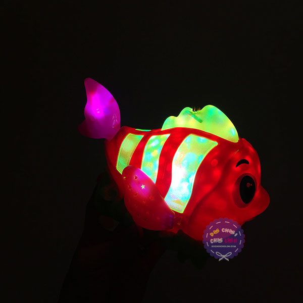Lồng đèn trung thu cá Nemo chạy pin có đèn nhạc thiếu nhi
