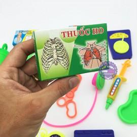 Bộ đồ chơi túi bác sĩ Đồng Sanh 18 món dụng cụ y tế bằng nhựa