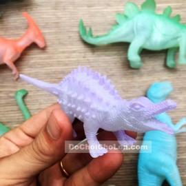 Bộ đồ chơi 8 chú khủng long dạ quang Dino World