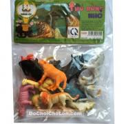 Bộ đồ chơi các loại thú sống trong rừng nhỏ