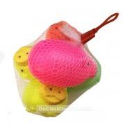 Đồ chơi ống heo nhựa 5 con túi lưới
