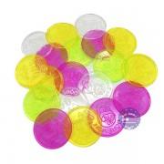 Bộ đồ chơi đồng xu lớn bằng nhựa (100 gram - khoảng 20 cái)