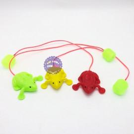 Đồ chơi chú ếch nhảy khi bơm hơi bằng nhựa