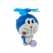 Đồ chơi quạt quay tay hình Doraemon