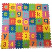 Đồ chơi bảng chữ số tập đánh vần và ráp chữ cái hình vuông