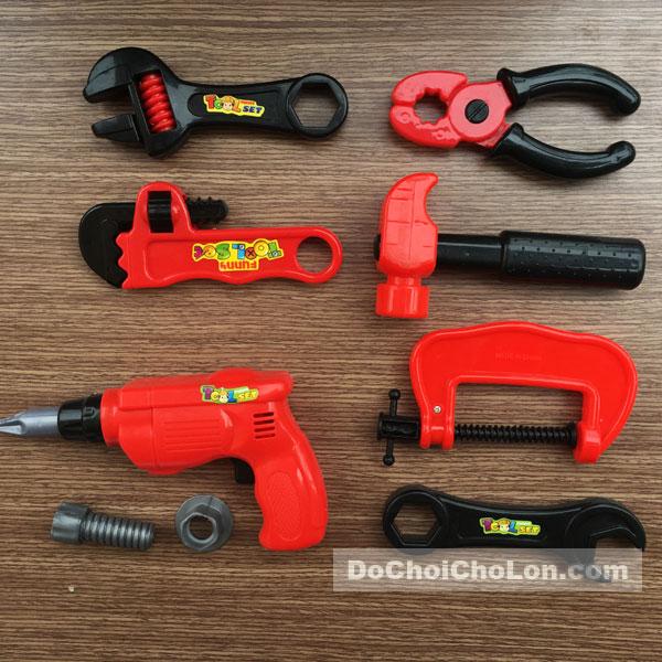 Vỉ đồ chơi dụng cụ sửa chữa 9 món Fire Equipment