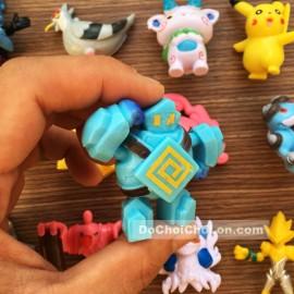 Vỉ đồ chơi Pokemon bằng nhựa 24 con (7cm)