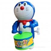 Đồ chơi Doraemon đánh trống vặn cót