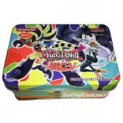 Hộp đồ chơi bài Yugioh bằng sắt 42 lá tiếng Anh