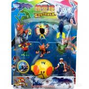 Vỉ đồ chơi 8 mô hình Pokemon bằng nhựa