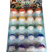 Vỉ đồ chơi bóc trứng Pokemon dạ quang (20 quả)