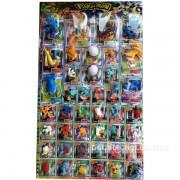 Vỉ đồ chơi Pokemon lớn bằng nhựa 42 con