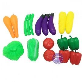 Bộ đồ chơi rau củ quả túi lưới các loại bằng nhựa