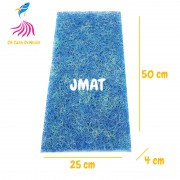 Tấm bùi nhùi JMAT 25X50 CM vật liệu lọc nước cho hồ cá