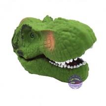 Hộp đồ chơi rối bàn tay khủng long bạo chúa Tyrannousaurus bằng nhựa mềm
