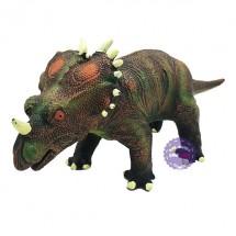 Đồ chơi khủng long sừng Styracosaurus bằng nhựa mềm dùng pin