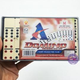 Hộp đồ chơi bộ cờ Domino Ngà Lớn Melamine Liên Hiệp Thành