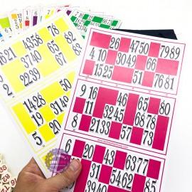 Hộp trò chơi kêu Lô Tô 90 số bằng giấy và Melamine cao cấp