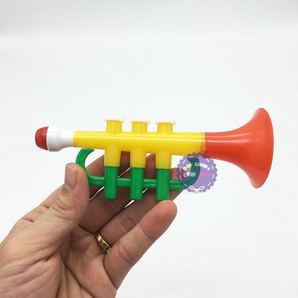 Đồ chơi kèn Trumpet bằng nhựa mini giá rẻ size 14 cm