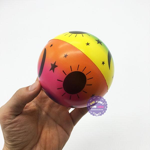 Đồ chơi banh tưng mềm hình ngôi sao túi lưới