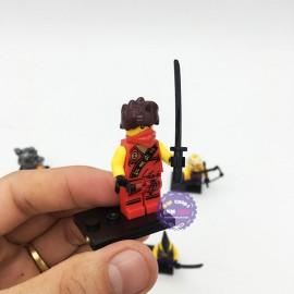 Bộ 8 hộp đồ chơi lắp ráp Ninja Movie bằng nhựa LB382