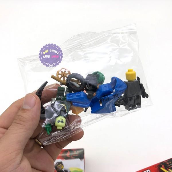 Bộ 6 hộp đồ chơi lắp ráp Ninjago Moto bằng nhựa LB384