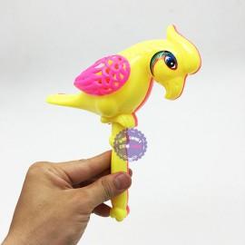 Đồ chơi lục lạc lắc chim két bằng nhựa