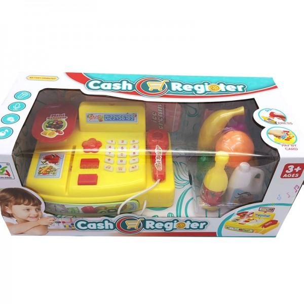 Hộp đồ chơi máy tinh tiền siêu thị dùng pin có đèn nhạc LS820A3