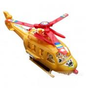 Đồ chơi máy bay trực thăng chiến đấu chạy bằng dây cót