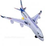 Hộp đồ chơi máy bay dân dụng Airline dùng pin