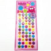 Hình dán sticker nổi 3D hình mặt cười
