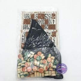 Bộ trò chơi kêu Lô Tô 90 số bằng giấy và gỗ