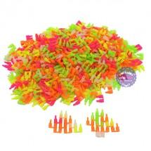 Bộ đồ chơi lắp ráp nút tròn (500 gram - khoảng 760 nút)