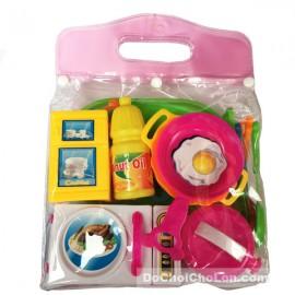 Bộ đồ chơi dụng cụ nhà bếp 16 món