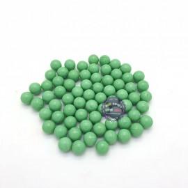 Bộ 70 viên bi ve màu xanh ngọc size 1.6 cm bằng thủy tinh